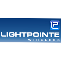 Lightpointe – A pioneer in the development of Optical Wireless solutions based on free-space optics (FSO) technology, LightPointe has deployed thousands of point-to-point outdoor wireless systems in more than 60 countries.